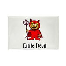 Little Devil Rectangle Magnet