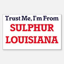 Trust Me, I'm from Sulphur Louisiana Decal