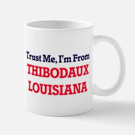 Trust Me, I'm from Thibodaux Louisiana Mugs