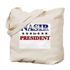 NASIR for president Tote Bag