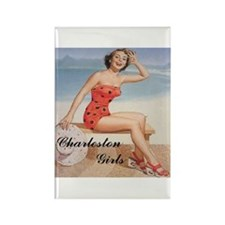 Funny Pinup Rectangle Magnet