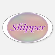 Shipper Oval Decal