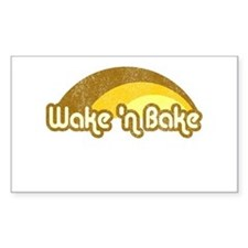 Wake 'n Bake Rectangle Decal