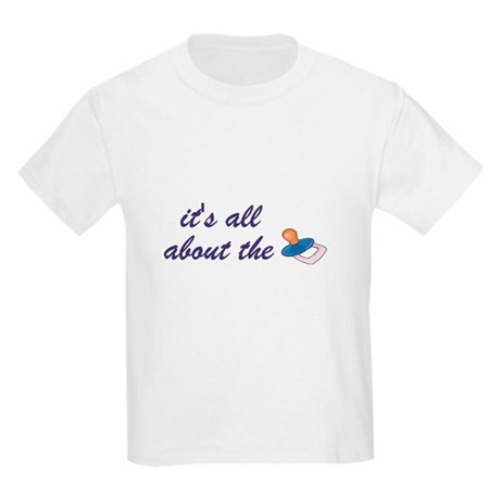 It's all about the binky Kids Light T-Shirt