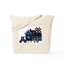 Amish People Tote Bag