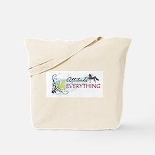 Funny American saddlebred Tote Bag
