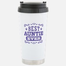 Cute Worlds best aunt Travel Mug