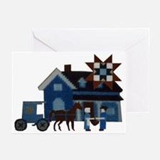 Amish People Greeting Cards (Pk of 10)