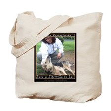 Save a Life = Go to Jail Tote Bag