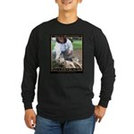 Save a Life = Go to Jail Long Sleeve Dark T-Shirt