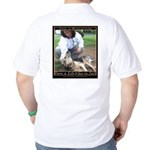 Save a Life = Go to Jail Golf Shirt