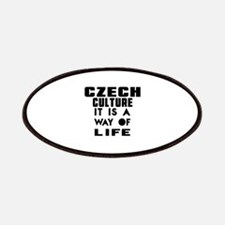 Czech Culture It Is A Way Of Life Patch