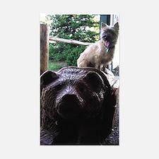 Cairn & Bear Rectangle Decal