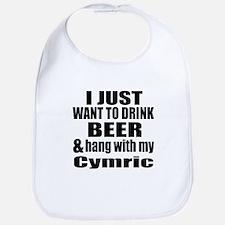 Hang With My Cymric Bib