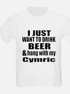 Hang With My Cymric T-Shirt