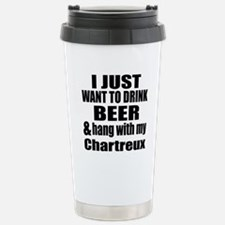 Hang With My Chartreux Travel Mug