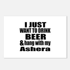 Hang With My Ashera Postcards (Package of 8)