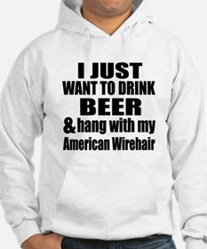 Hang With My American Wirehair Hoodie