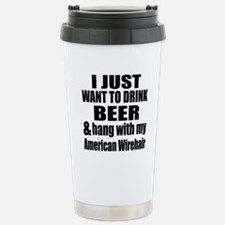 Hang With My American W Travel Mug