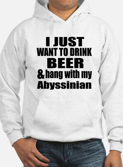 Hang With My Abyssinian Hoodie