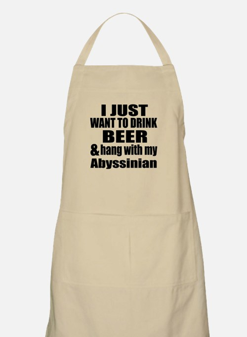 Hang With My Abyssinian Apron