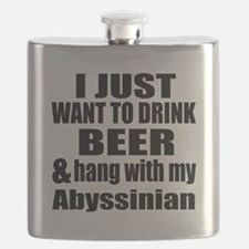 Hang With My Abyssinian Flask