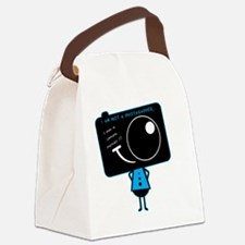 Cool Snap camera Canvas Lunch Bag