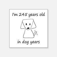 35 Dog Years 6-2 Sticker
