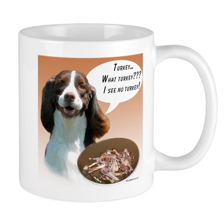 English Springer Turkey Mug