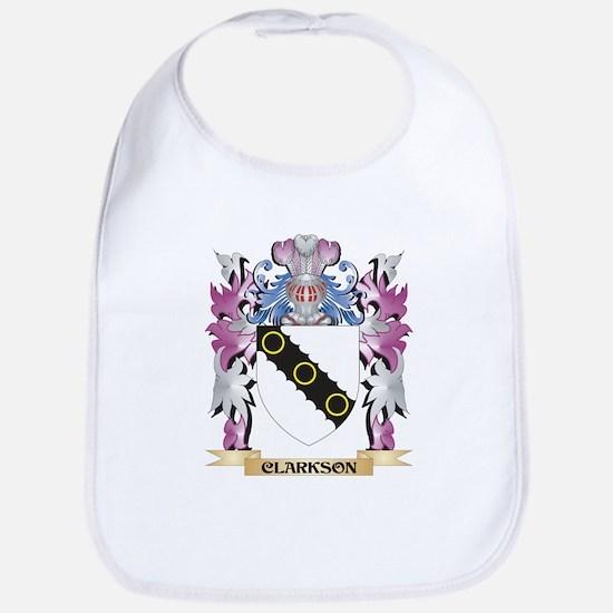 Clarkson- Coat of Arms (Family Crest) Bib