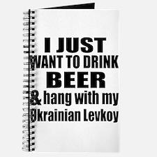 Hang With My Ukrainian Levkoy Journal