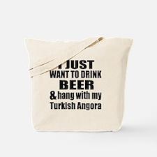 Hang With My Turkish Angora Tote Bag