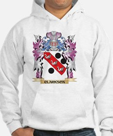 Clarkson Coat of Arms (Family Cr Hoodie