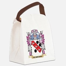 Clarkson Coat of Arms (Family Cre Canvas Lunch Bag