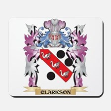 Clarkson Coat of Arms (Family Crest) Mousepad