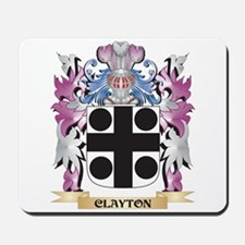 Clayton Coat of Arms (Family Crest) Mousepad