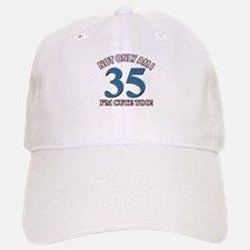 35 birthday design Baseball Baseball Cap