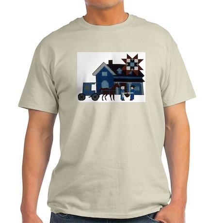 Amish People Ash Grey T-Shirt