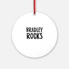Bradley Rocks Ornament (Round)