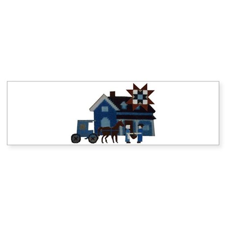 Amish People Bumper Sticker
