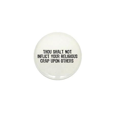 Anti-Religious Mini Button (100 pack)