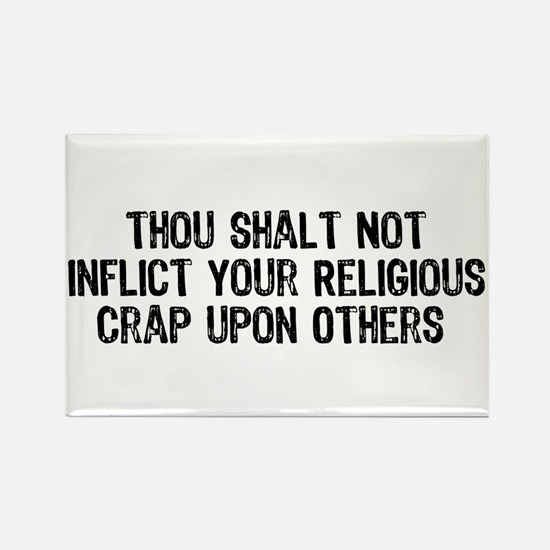 Anti-Religious Rectangle Magnet (10 pack)