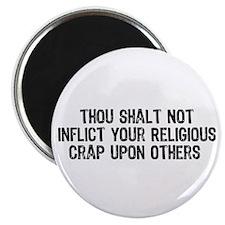 """Anti-Religious 2.25"""" Magnet (10 pack)"""