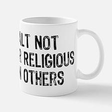 Anti-Religious Small Small Mug