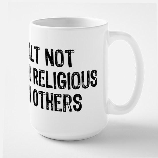 Anti-Religious Large Mug