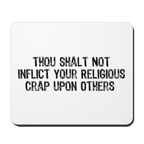 Anti-Religious Mousepad