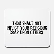 Anti-Religious Mousepad