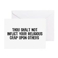 Anti-Religious Greeting Cards (Pk of 20)