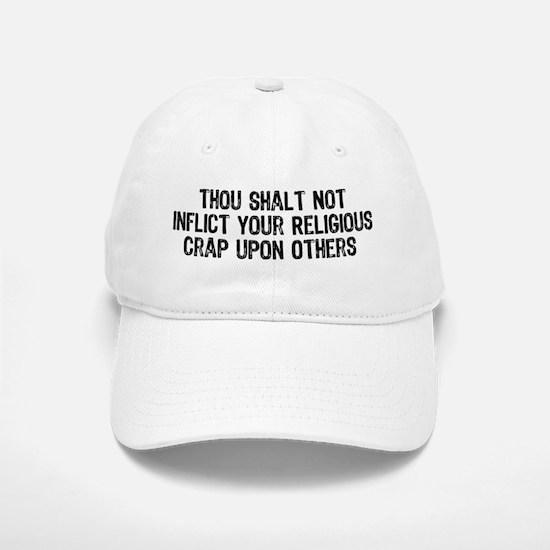 Anti-Religious Baseball Baseball Cap