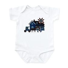 Amish People Infant Creeper